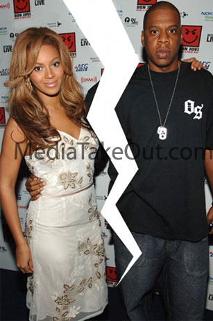 beyonce and jay relationship break up
