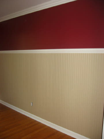 Anyone Paint Their Walls Red And Brown Beige