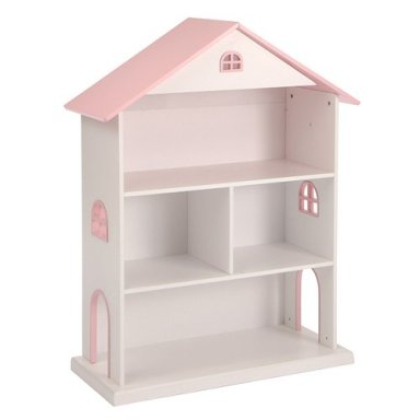 Cute dollhouse bookcase for little girls room - Adorable dollhouse bookshelves kids to decorate the room ...
