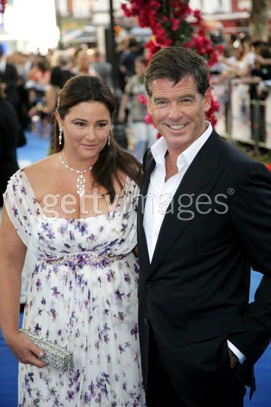Pierce Brosnan And Wife Keely Shaye Smith
