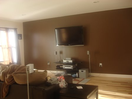 Rooms Painted Chocolate Brown