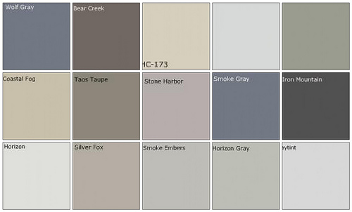 show me your bedroom paint colors