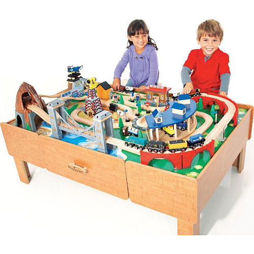 Imaginarium train table sets for 10 in 1 game table toys r us