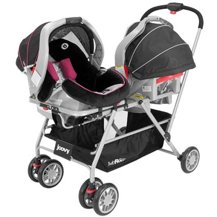 New product rave...Joovy Roo twin snap-in stroller