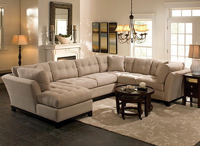Image Attachment(s) : raymour and flanigan cindy crawford sectional - Sectionals, Sofas & Couches