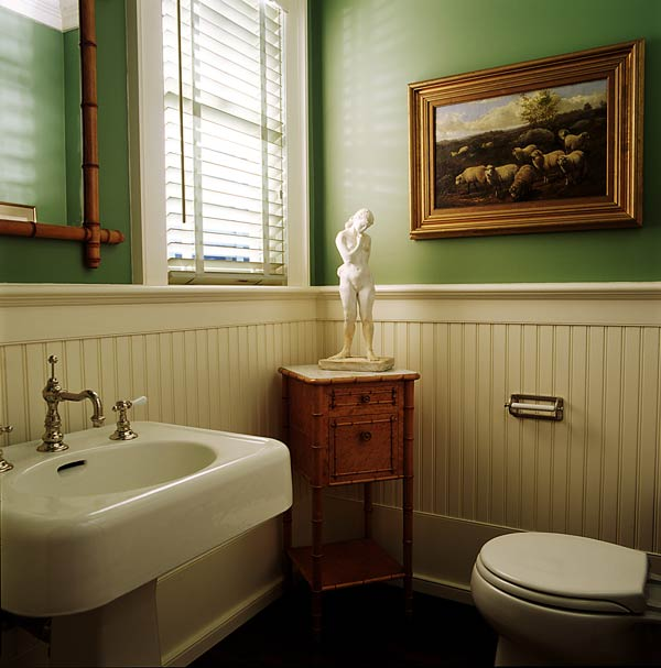 Amazing Bathroom with Beadboard 600 x 607 · 50 kB · jpeg