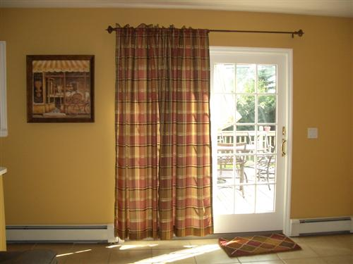 Show Me Pics Of Your Window Treatments For Sliding