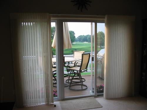 ... Show me pics of your window treatments for your sliding glass doors