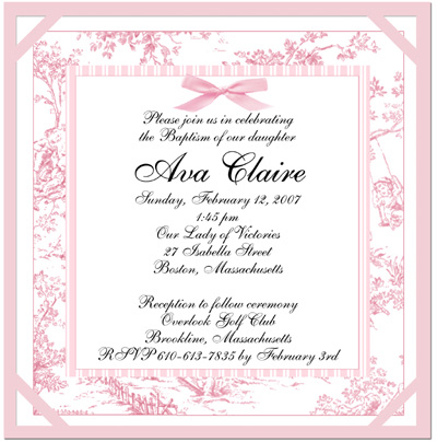 Baptismal Invitation Message for amazing invitations ideas