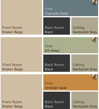 beige accent colorsthe 25 best coordinating colors ideas on pinterest wall - Slate Blue Living Room Ideas