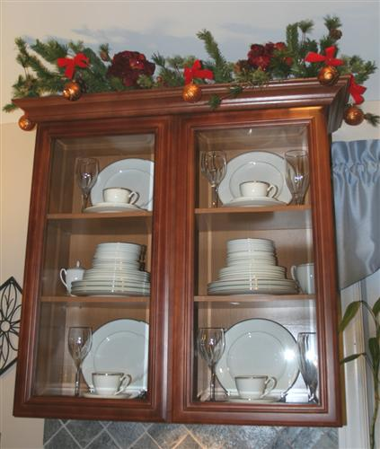 Attirant I Only Displayed 4 Because We Donu0027t Have A Full China Cabinet, Only A  Cabinet In Our Kitchen. I Stacked All The Other Plates. Put Out Some Of The  Glasses, ...