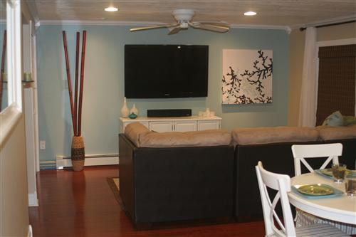 Another Great Color Is A Blue Green That We Used In Our Family Room It S Valspar Beach House
